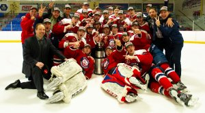 Fred Page Cup championship photo, Ottawa Jr. Sens.